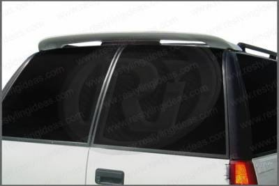 Spoilers - Custom Wing - Restyling Ideas - Chevrolet Suburban Restyling Ideas Custom Style Spoiler - 01-CHSU94C