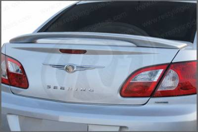 Spoilers - Custom Wing - Restyling Ideas - Chrysler Sebring 4DR Restyling Ideas Custom 2-Post Style Spoiler - 01-CRSE07C4-2P