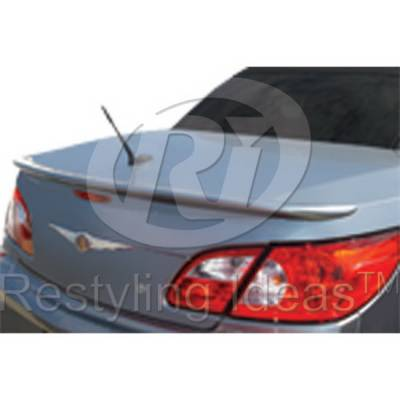Spoilers - Custom Wing - Restyling Ideas - Chrysler Sebring Restyling Ideas Spoiler - 01-CRSE08CCVLM