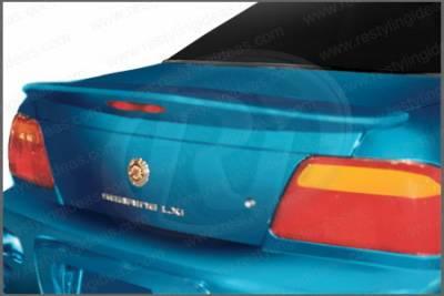 Spoilers - Custom Wing - Restyling Ideas - Chrysler Sebring 2DR Restyling Ideas Factory Style Spoiler - 01-CRSE96FCV