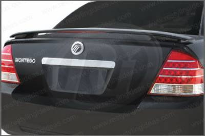 Spoilers - Custom Wing - Restyling Ideas - Ford 500 Restyling Ideas Spoiler with LED - 2-Post Style - 01-FO5005C2