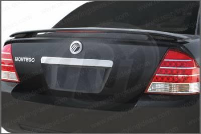 Spoilers - Custom Wing - Restyling Ideas - Mercury Montego Restyling Ideas Custom 2-Post with LED Spoiler - 01-FO5005C2