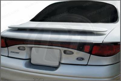 Spoilers - Custom Wing - Restyling Ideas - Ford Contour Restyling Ideas Factory Style Spoiler with LED - 01-FOES97F