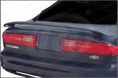 Spoilers - Custom Wing - Restyling Ideas - Ford Probe Restyling Ideas Factory Style Spoiler with LED - 01-FOPR93FL