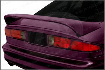 Spoilers - Custom Wing - Restyling Ideas - Ford Probe Restyling Ideas Mid Wing Style Spoiler with LED - 01-FOPR93ML