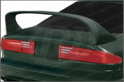 Spoilers - Custom Wing - Restyling Ideas - Ford Probe Restyling Ideas Hi-Wing Style Spoiler with LED - 01-FOPR93SL