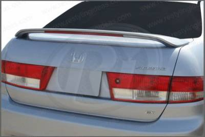 Spoilers - Custom Wing - Restyling Ideas - Honda Accord 4DR Restyling Ideas Factory Style Spoiler with LED - 01-HOAC03F4L