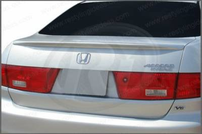 Spoilers - Custom Wing - Restyling Ideas - Honda Accord 4DR Restyling Ideas Factory Lip Style Spoiler - 01-HOAC03F4LM