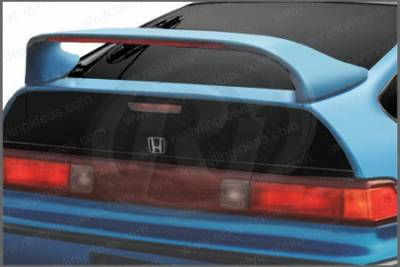 Spoilers - Custom Wing - Restyling Ideas - Honda CRX Restyling Ideas Mid Wing Spoiler with LED - 01-HOCR88ML