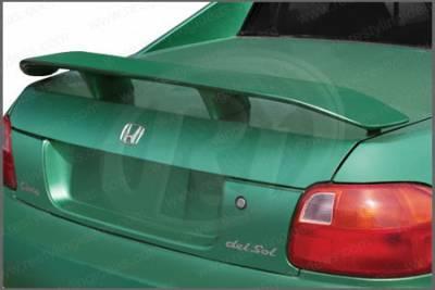 Spoilers - Custom Wing - Restyling Ideas - Honda Del Sol Restyling Ideas Factory Style Spoiler - 01-HODE93F