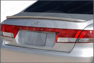 Spoilers - Custom Wing - Restyling Ideas - Hyundai Azera Restyling Ideas Custom Lip Style Spoiler - 01-HYAZ06CLM