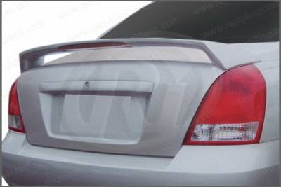 Spoilers - Custom Wing - Restyling Ideas - Hyundai Elantra Restyling Ideas Factory Style Spoiler with LED - 01-HYEL02FL