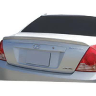 Spoilers - Custom Wing - Restyling Ideas - Hyundai Elantra Restyling Ideas Spoiler - 01-HYEL04FGT