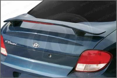 Spoilers - Custom Wing - Restyling Ideas - Hyundai Tiburon Restyling Ideas Factory Style Spoiler with LED - 01-HYTI00FL