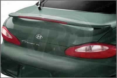 Spoilers - Custom Wing - Restyling Ideas - Hyundai Tiburon Restyling Ideas Factory Style Spoiler with LED - 01-HYTI97FL