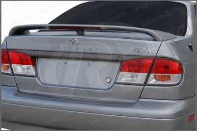Spoilers - Custom Wing - Restyling Ideas - Infiniti G20 Restyling Ideas Factory Style Spoiler with LED - 01-ING299FL