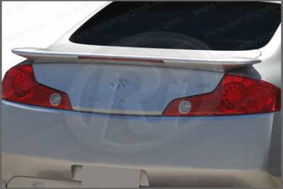 Spoilers - Custom Wing - Restyling Ideas - Infiniti G35 2DR Restyling Ideas Factory Style Spoiler with LED - 01-ING303F2L