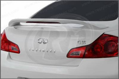 Spoilers - Custom Wing - Restyling Ideas - Infiniti G35 Restyling Ideas Spoiler - 01-ING307C4LM