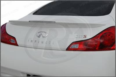 Spoilers - Custom Wing - Restyling Ideas - Infiniti G37 Restyling Ideas Factory Style Spoiler with LED - 01-ING308F2FML