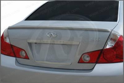 Spoilers - Custom Wing - Restyling Ideas - Infiniti M45 Restyling Ideas Factory Lip Style Spoiler - 01-INM406F