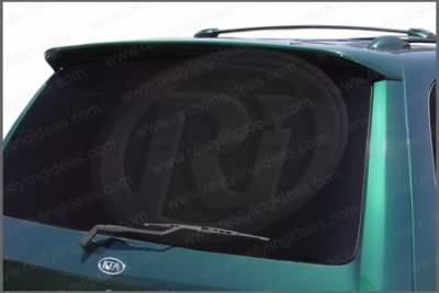Spoilers - Custom Wing - Restyling Ideas - Kia Sedona Restyling Ideas Factory Style Spoiler - 01-KISED02C
