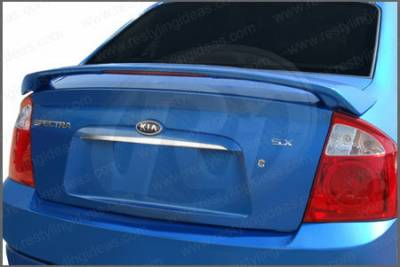 Spoilers - Custom Wing - Restyling Ideas - Kia Spectra Restyling Ideas Factory Style Spoiler with LED - 01-KISPE04FL