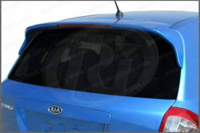 Spoilers - Custom Wing - Restyling Ideas - Kia Spectra Restyling Ideas Factory Style Spoiler with LED - 01-KISPE05FHL