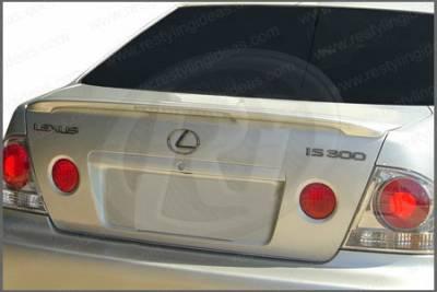 Spoilers - Custom Wing - Restyling Ideas - Lexus IS Restyling Ideas Factory Lip Style Spoiler with LED - 01-LEIS02FL