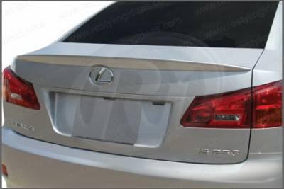 Spoilers - Custom Wing - Restyling Ideas - Lexus IS Restyling Ideas Factory Lip Style Spoiler - 01-LEIS06F