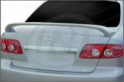 Spoilers - Custom Wing - Restyling Ideas - Mazda 6 Restyling Ideas Factory Style Spoiler with LED - 01-MA603FL