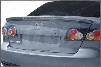 Spoilers - Custom Wing - Restyling Ideas - Mazda 6 Restyling Ideas Factory Lip Style Spoiler with LED - 01-MA603FLL