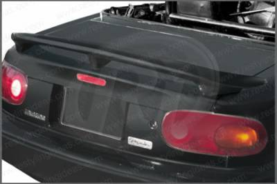 Spoilers - Custom Wing - Restyling Ideas - Mazda Miata Restyling Ideas Factory 3-Post Style Spoiler - 01-MAMI90F3PO