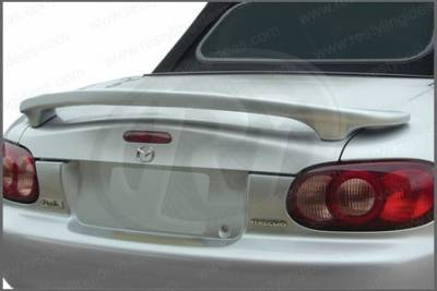 Spoilers - Custom Wing - Restyling Ideas - Mazda Miata Restyling Ideas Custom 2-Post Style Spoiler - 01-MAMI99C