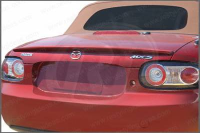 Spoilers - Custom Wing - Restyling Ideas - Mazda MX5 Restyling Ideas Factory Lip Style Spoiler - 01-MAMX506F