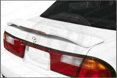 Spoilers - Custom Wing - Restyling Ideas - Mazda Protege Restyling Ideas Factory Style Spoiler with LED - 01-MAPR95FL