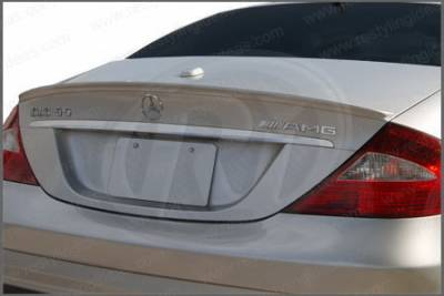 Spoilers - Custom Wing - Restyling Ideas - Mercedes-Benz CLS Restyling Ideas Factory Lip Style Spoiler - 01-MBCLS06F