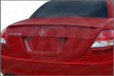 Spoilers - Custom Wing - Restyling Ideas - Mercedes-Benz SLK Restyling Ideas Factory Lip Style Spoiler - 01-MBSLK05F
