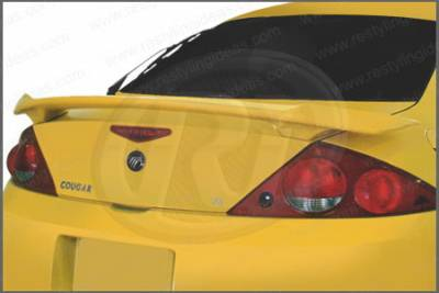 Spoilers - Custom Wing - Restyling Ideas - Mercury Cougar Restyling Ideas Factory GT Style Spoiler - 01-MECO01FGT