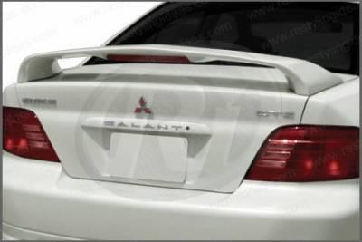 Spoilers - Custom Wing - Restyling Ideas - Mitsubishi Galant Restyling Ideas Factory Style Spoiler with LED - 01-MIGA99FL