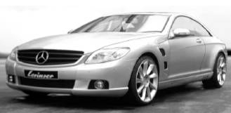 Lorinser - Mercedes CL-Class W219 Complete Aero Kit