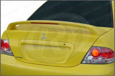 Spoilers - Custom Wing - Restyling Ideas - Mitsubishi Lancer Restyling Ideas Factory Ralliart Style Spoiler with LED - 01-MILA04FRL