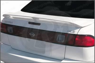 Spoilers - Custom Wing - Restyling Ideas - Nissan Sentra Restyling Ideas Factory Style Spoiler - 01-NISE95F