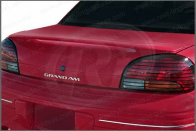 Spoilers - Custom Wing - Restyling Ideas - Pontiac Grand Am Restyling Ideas Factory Style Spoiler - 01-POGA96F