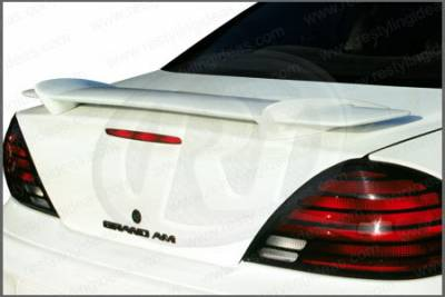 Spoilers - Custom Wing - Restyling Ideas - Pontiac Grand Am Restyling Ideas Factory Style Spoiler - 01-POGA99F