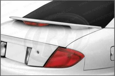 Spoilers - Custom Wing - Restyling Ideas - Pontiac Sunfire Restyling Ideas Factory Style Spoiler with LED - 01-POSU95F2L
