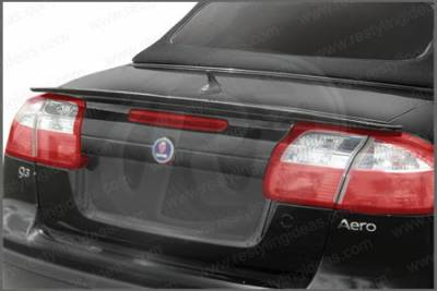 Spoilers - Custom Wing - Restyling Ideas - Saab 9-3 Restyling Ideas Factory Lip Style Spoiler - 01-SA9304FCV