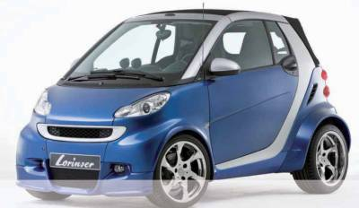 ForTwo - Body Kits - Lorinser - Smart ForTwo Lorinser Body Kit