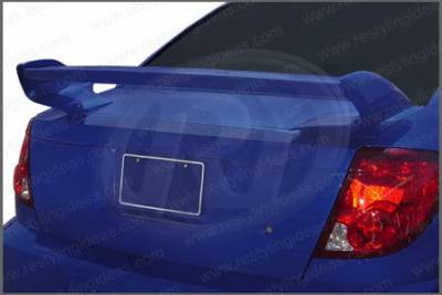 Spoilers - Custom Wing - Restyling Ideas - Saturn Ion Restyling Ideas Redline Style Spoiler - 01-SAIO03FRL