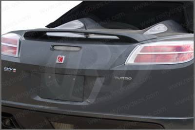 Spoilers - Custom Wing - Restyling Ideas - Saturn Sky Restyling Ideas Factory 2-Post Style Spoiler - 01-SASK06F