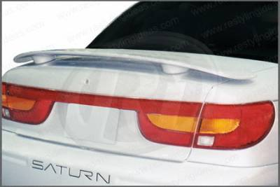 Spoilers - Custom Wing - Restyling Ideas - Mercedes-Benz SL Restyling Ideas Factory 2-Post Style Spoiler - 01-SASL00F